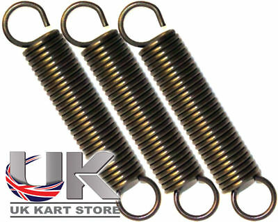 Iame X30 Scarico Molle 67mm x 12mm Alto Tensione x 3 UK KART STORE