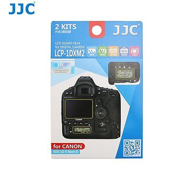 JJC LCP-1DXM2 LCD Screen Protector Guard Film for CANON EOS 1D X Mark II Camera