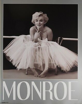 MARILYN MONROE POSTER (40x50cm) WHITE DRESS NEW LICENSED ART