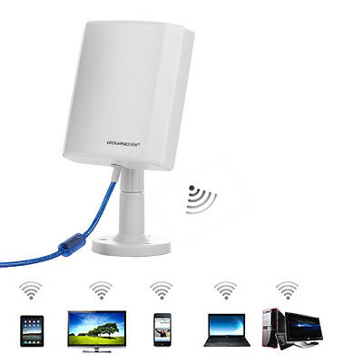 WiFi Antenna 3000M Distance Range Wireless Extender Booster Repeater USB Adapter
