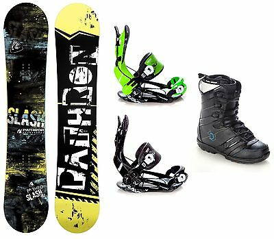 Snowboard Pathron Slash Carbon +Bindung Raven Fastec FT270+Boots Northwave Force
