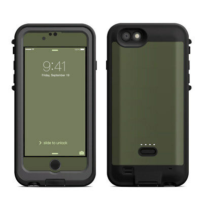 Skin for LifeProof FRE Power iPhone 6/6S - Solid Olive Drab - Sticker Decal