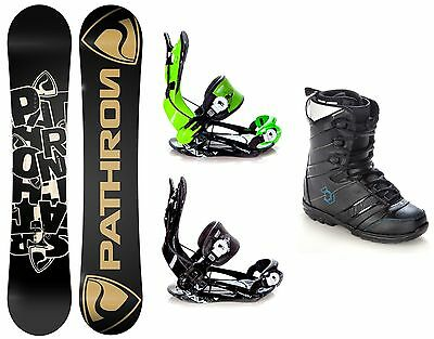 Snowboard Pathron Scratch + Bindung Raven Fastec FT270 + Boots Northwave Force
