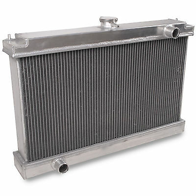 Universal Race Rally Drift Sport 100Mm Aluminium Alloy Twin Core Radiator Rad