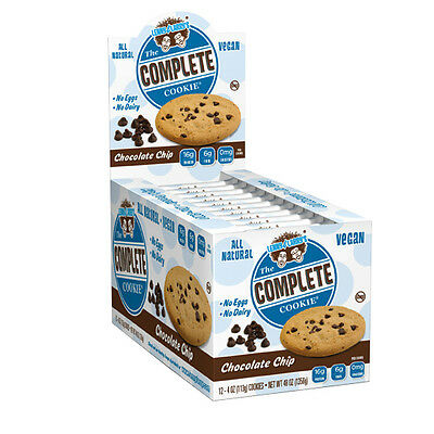 Lenny & Larry's Complete Cookie 12 x 113g Protein Cookies Vegan Natural No Dairy