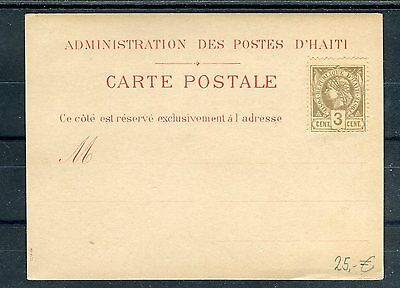 Carte Postale Republique d´Haiti 3 Cents - b1928