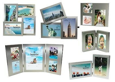 Silver Multi Aperture Picture Photo Frame 2 3 4 5 6 Collage Multiple Large gifts