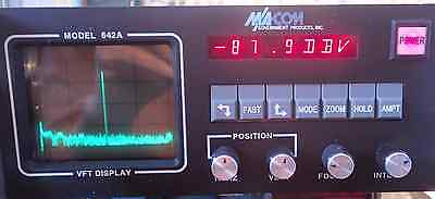 Macom / Reaction 642A Voice-Frequency Telegraphy Spectrum Display Unit Rev. 3.1