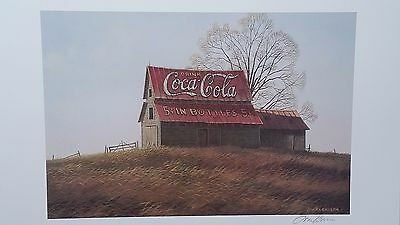 COCA COLA on the Hill, Jim Harrison, Old Barn and Sign