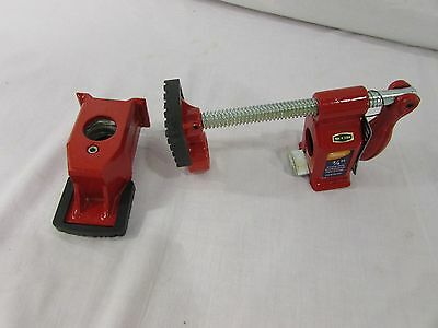"""Pittsburgh Professional 3/4"""" Heavy Duty Pro Pipe Clamp #65254 - Red"""