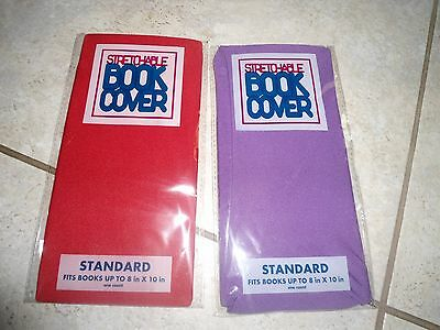 Lot Of 2 - Stretchable Jumbo Book Cover 9