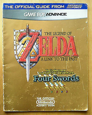 Legend of zelda link to the past four swords official guide nintendo gba