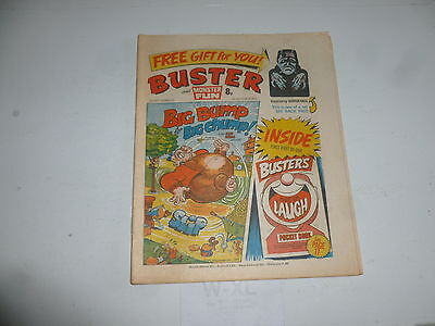BUSTER & MONSTER FUN Comic - Date 01/10/1977 - UK Paper comic