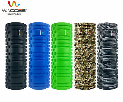 Wacces Foam Roller Deep Muscle Tissue Massage Fitness Gym Yoga Sports