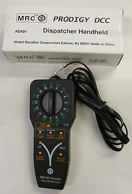 MRC Original Prodigy DCC Hand Held Dispatcher AD491 New