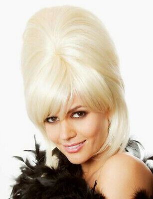 Patsy Stone Ab Fab Wig Blonde Beehive Costume Absolutely Fabulous Joanna Lumley