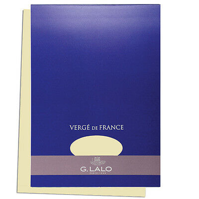 "G. Lalo Verge de France Watermarked Tablet, A4 (8.27"" x 11.7""), Ivory"