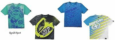 Junior Kids Boys Girls Official Licensed No Fear Motorcross MX Sub T-Shirt Tee