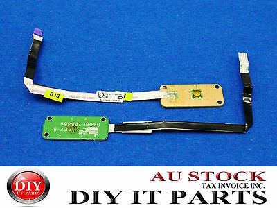 Toshiba Satellite L750  Power ON-OFF Button Board + Cable P/N A000079350
