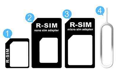 Nano Sim Karten For HTC iPhone 4 5 5s 6 SAMSUNG LG Adapter 4 in 1 Micro Nadel