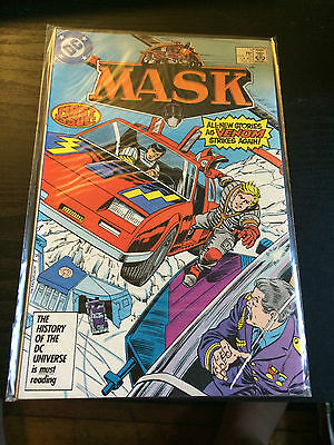 MASK Comic 1987 First Issue #1 DC