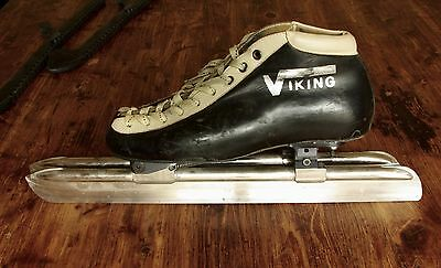 Viking speed skates with Marchese clap blade system long track