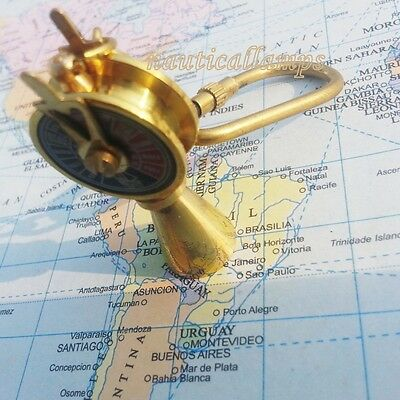 Nautical Keychain Brass Telegraph Ship Engine Room Collectible Nautical Decor