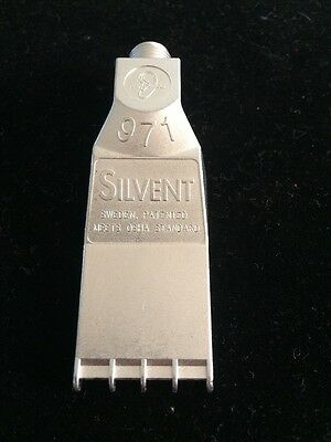 Silvent 971 Air  /pneumatic flat Nozzle /Knife/blow gun 1/8 npt stainless steel