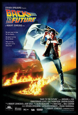(Framed) Back To The Future Movie Poster Print Picture - Ready To Hang Art New
