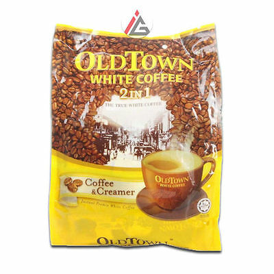 Old Town - White Coffee 2 In 1 (Coffee & Creamer) 40g x 15 Sachets - 600 gm