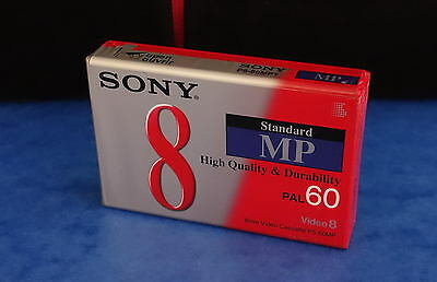 *** Une Cassette Sony Video 8 / Mp60M - High Quality - Neuve Sous Emballage ***