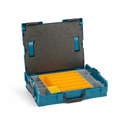 Sortimo L-Boxx 102  limited edition (makita style) inkl Insetboxenset F3