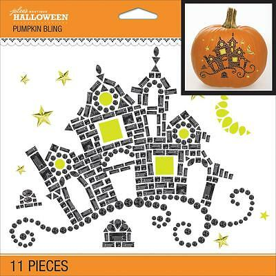 dddaed61b532 Crafts Pumpkin Bling Gems Decorate Pumpkin or Anything Haunted House Black  Gold