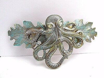 OCTOPUS BARRETTE octopus Barrettes For Thick Hair STEAM PUNK HAIR CLIPS