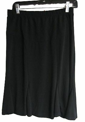 Lilo Maternity Short Flairy Skirt Black Size S Nwt