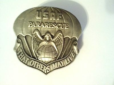 U.S.Air Force Para Rescue (That Others May Live  )  Hat Pin  1 1/2""