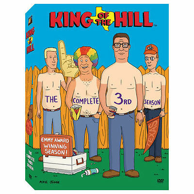 King of the Hill - Season 3 (DVD, 2004, 3-Disc Set) Mike Judge