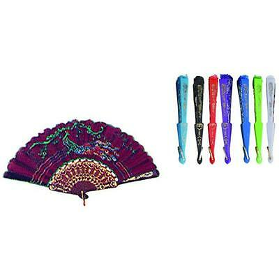 Chinese Fans Assorted Colors and Designs Case Of 144