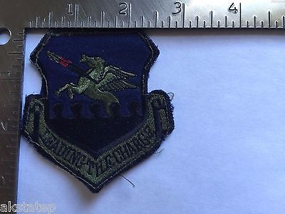 USAF 51st WING LEADING THE CHARGE PATCH (AFE-2) USED