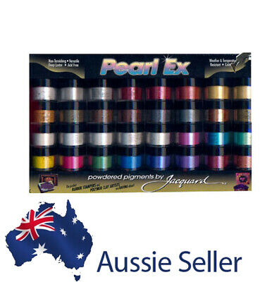 Pearl Ex 32 Colour Set - Mica Metallic Powder Pigments - Great Resin Colour