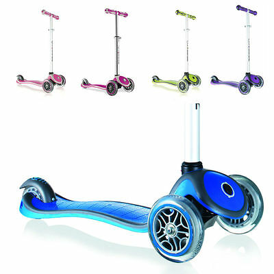 Globber Scooter | My FREE UP 3-Wheel Adjustable height | 3-6 yrs+ or up to 50Kg