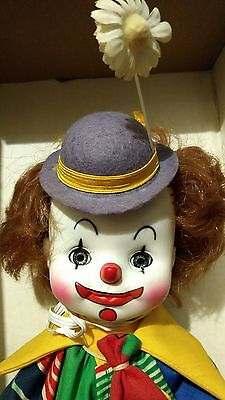 Vintage Effanbee Here Come the Clowns Collection Elmer Circus Clown Jester Doll