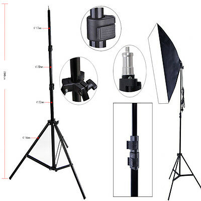 Studio Photography Light Flash Speedlight Umbrella Holder Stand Bracket Tripod