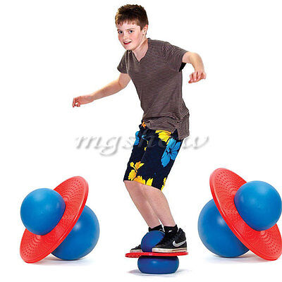 Rock N Hopper Balance Board Pogo Lolo Jumper Exercise Hop Bounce Space Ball Toy