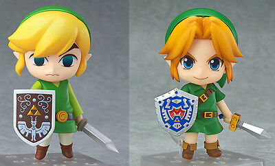 The Legend of Zelda Link Wind Waker & Majora's Mask 3D Ver. Nendoroid