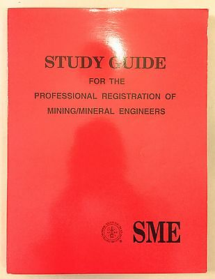 Study Guide Professional Registration of Mining / Mineral Engineers 5th Ed 1996