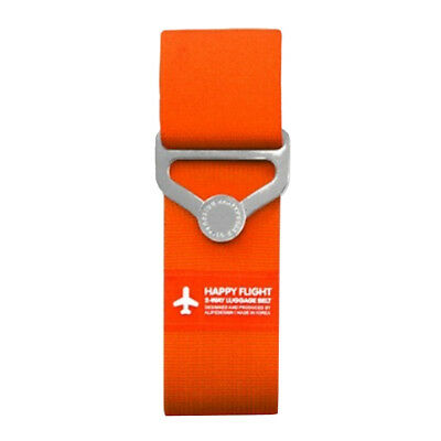 Travel Luggage Belt Pack Backpack Bag Strip Buckle Clip Strap Baggage Orange