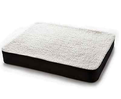 DuaLuxe Luxury Gel Seat Cushion. Back/Bottom Soft Bolster Support Office/Home.