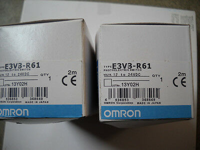 1Pcs New Omron Photoelectric Switch E3V3-R61