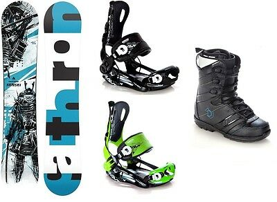 Snowboard Pathron Sensei + Bindung Raven Fastec FT270 + Boots Northwave Force